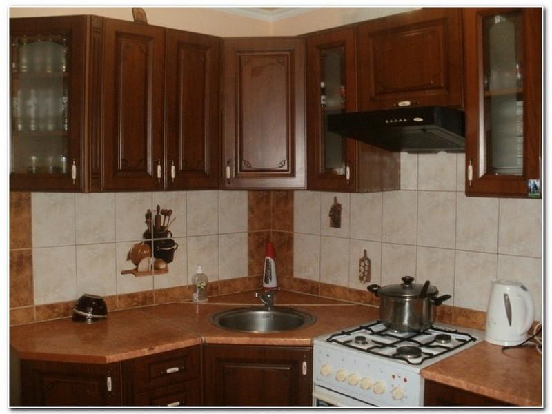 Угловая кухня.