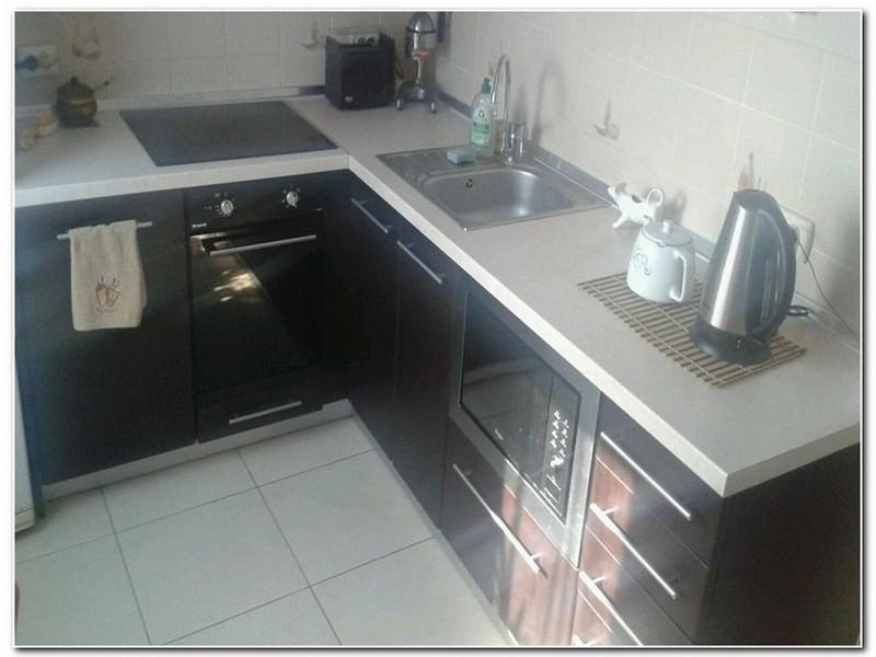 Дизайн угловой кухни.