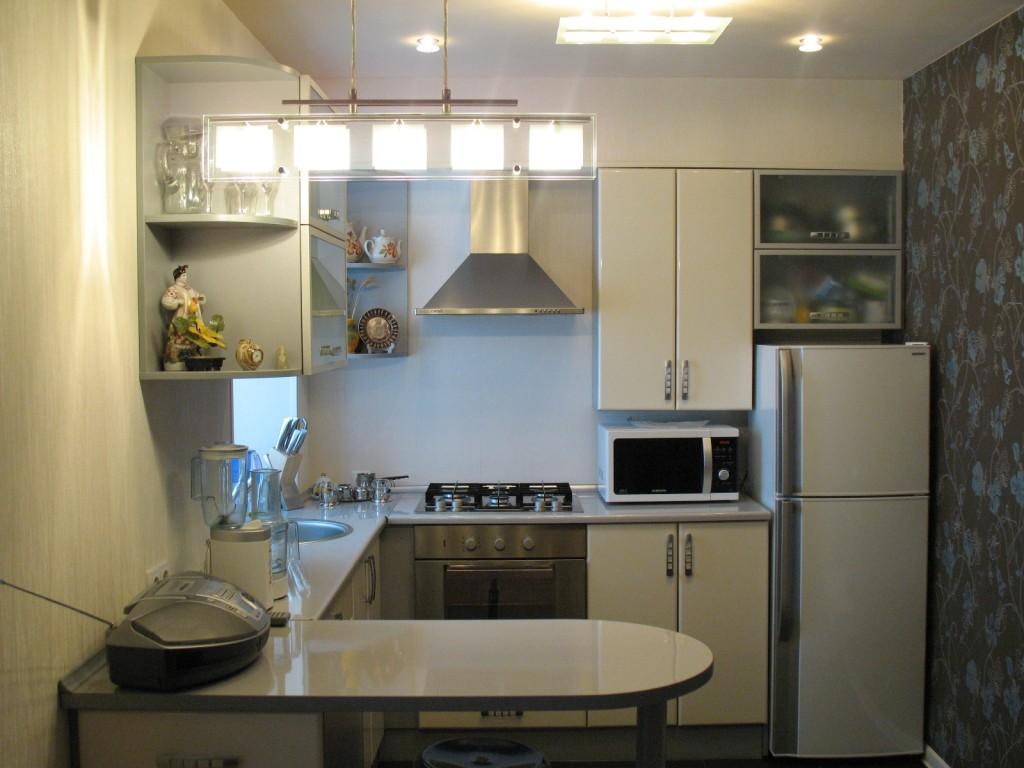 дизайн очень маленькой кухни 80 реальных фото