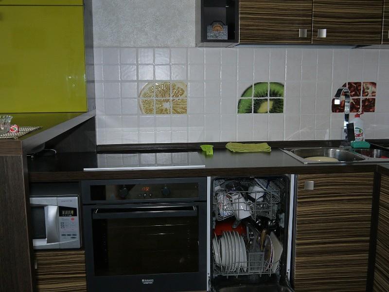 Варианты кухонного фартука