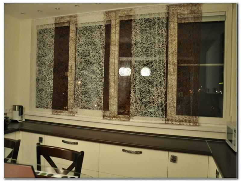 Японские шторы  для кухни