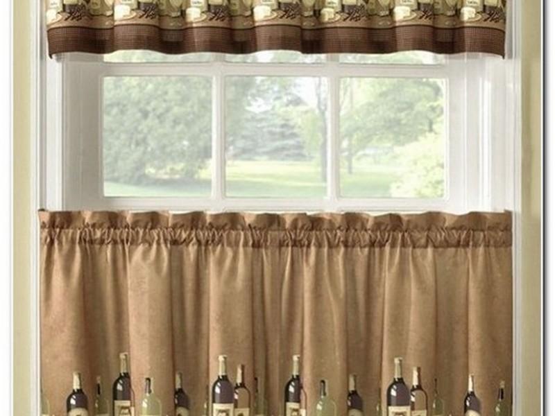 шторы в стиле кофе