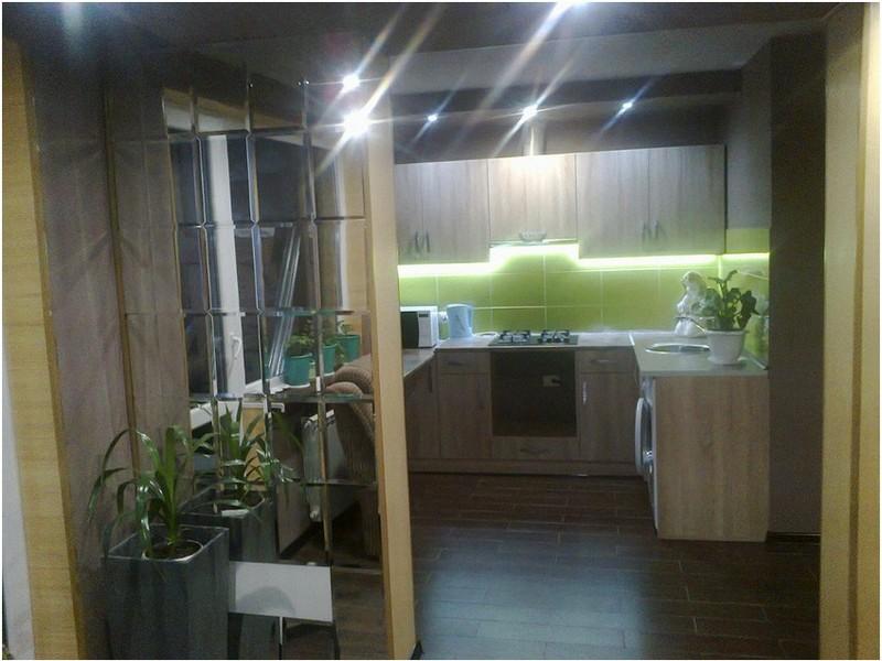 малогабаритная кухня в хрущевке.