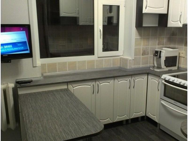 фото кухня в хрущевке дизайн