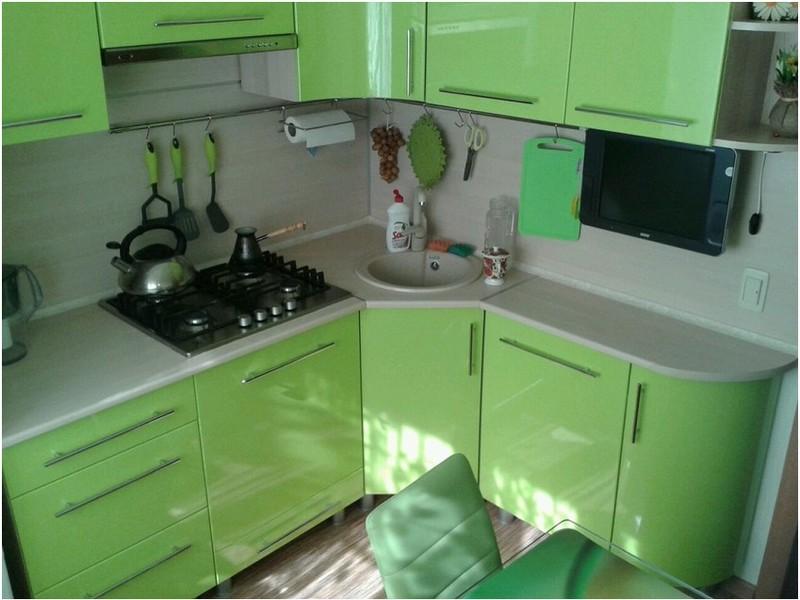 Кухня в хрущевке дизайн 6м