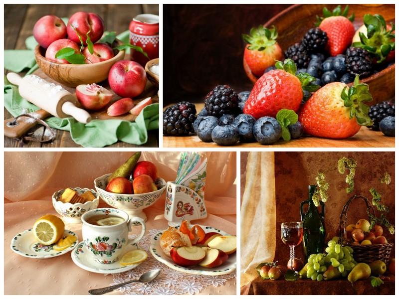 фотообои для кухни натюрморт