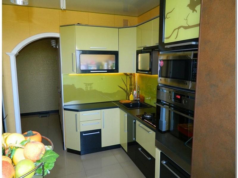 дизайн кухни 5кв метров фото