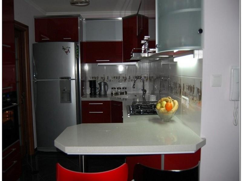 Кухня 5 кв метров фото