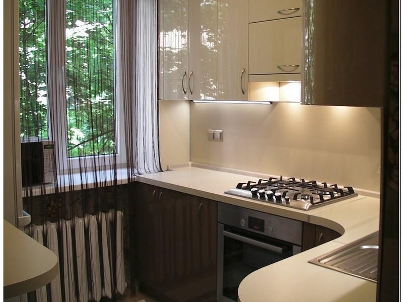 Кухня 4 метра дизайн фото