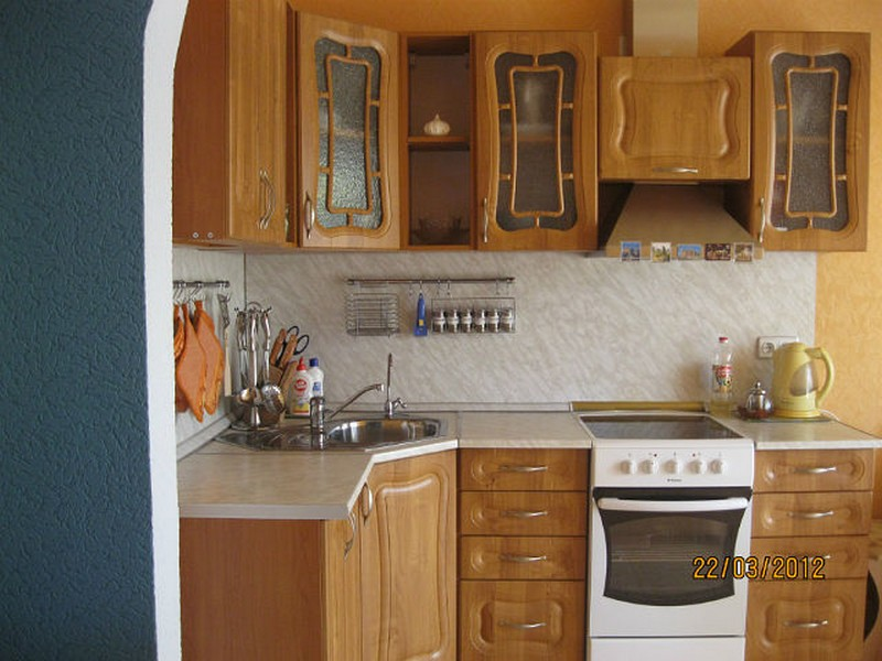 Дизайн кухни коричневого цвета (реальные фото)