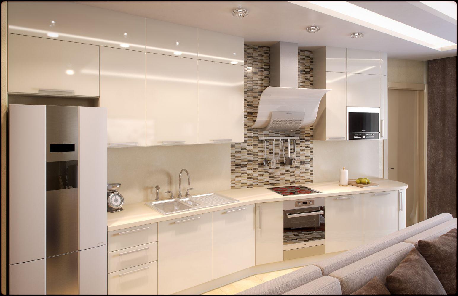 Светлые угловые кухни 26 фото характеристики кухонных гарнитуров в стиле классика Особенности кухонь со светлым верхом и темным низом