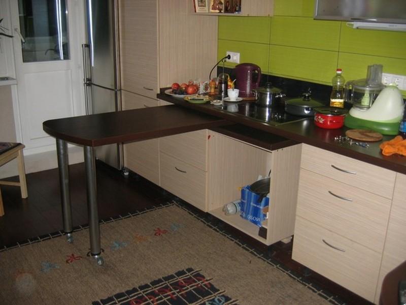 Компактная мебель-трансформер для кухни и спальни 61