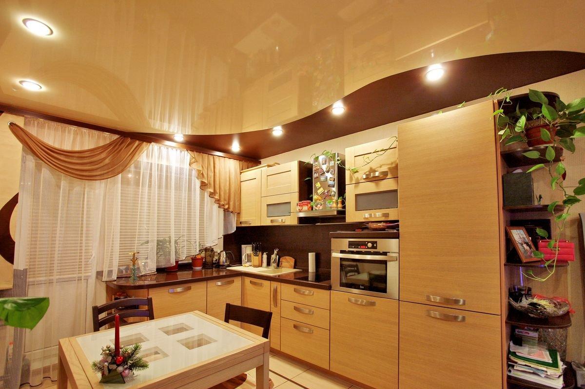 дизайн стен и потолков на кухне фото выращивают