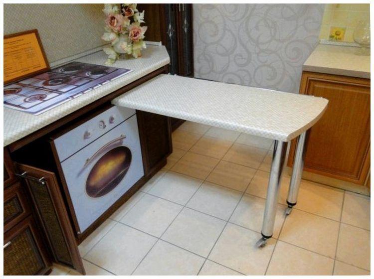 Как сделать выдвижной столик