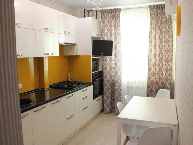 Дизайн кухни 10 кв м реальные