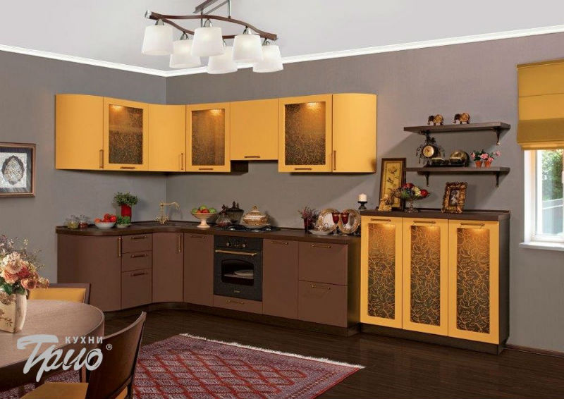 Кухни Трио - описание, фото каталог