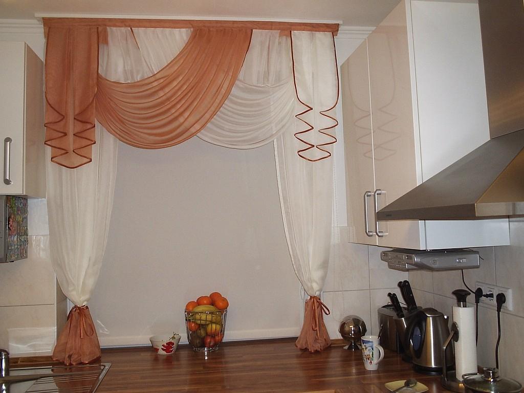 Ламбрекены на кухню реальные фото