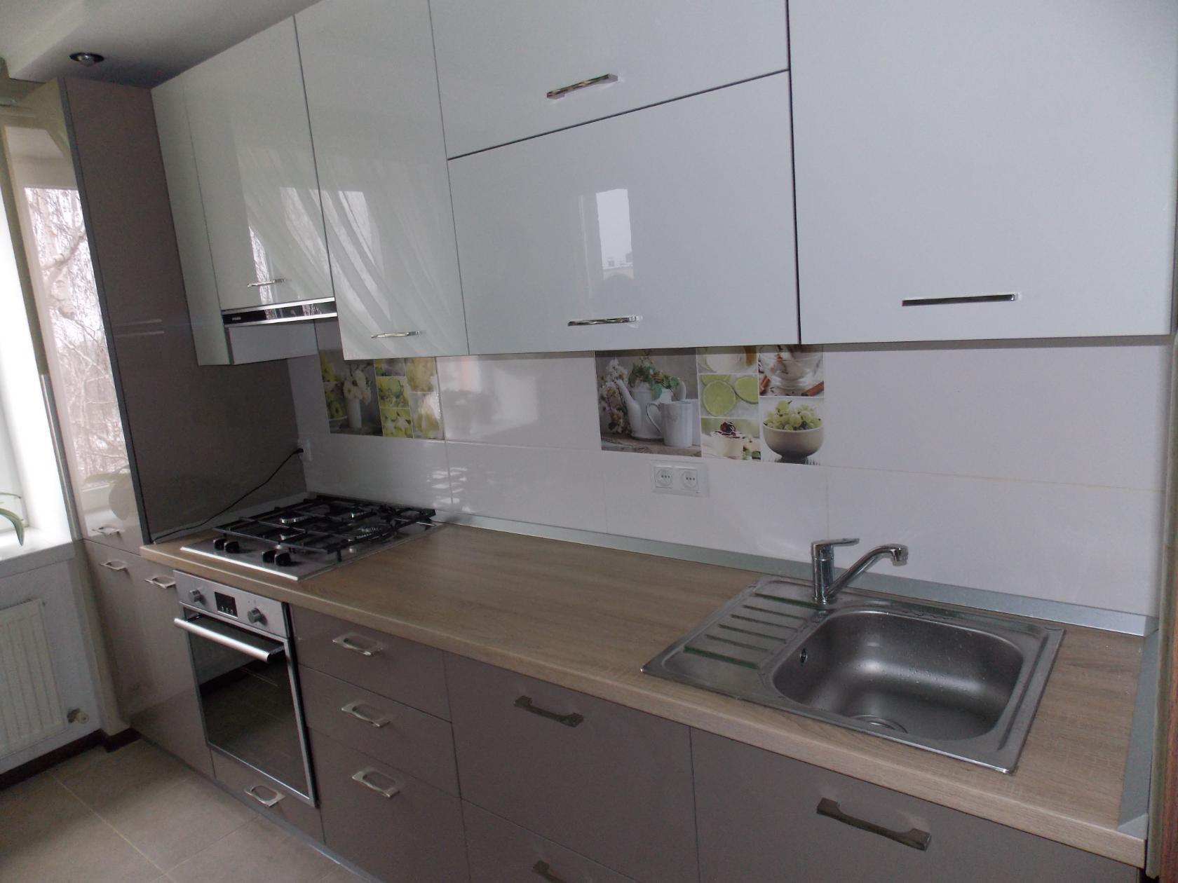 Глянцевая кухня в дизайне (70+ реальных фото)