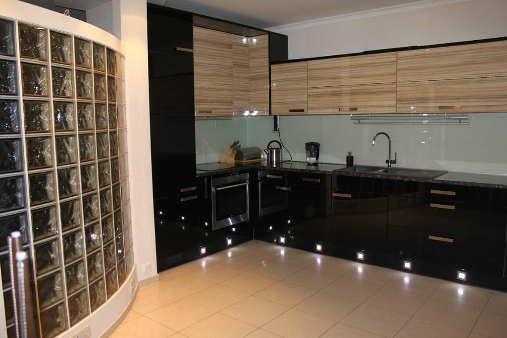 Кухни зебрано в интерьере (фото)