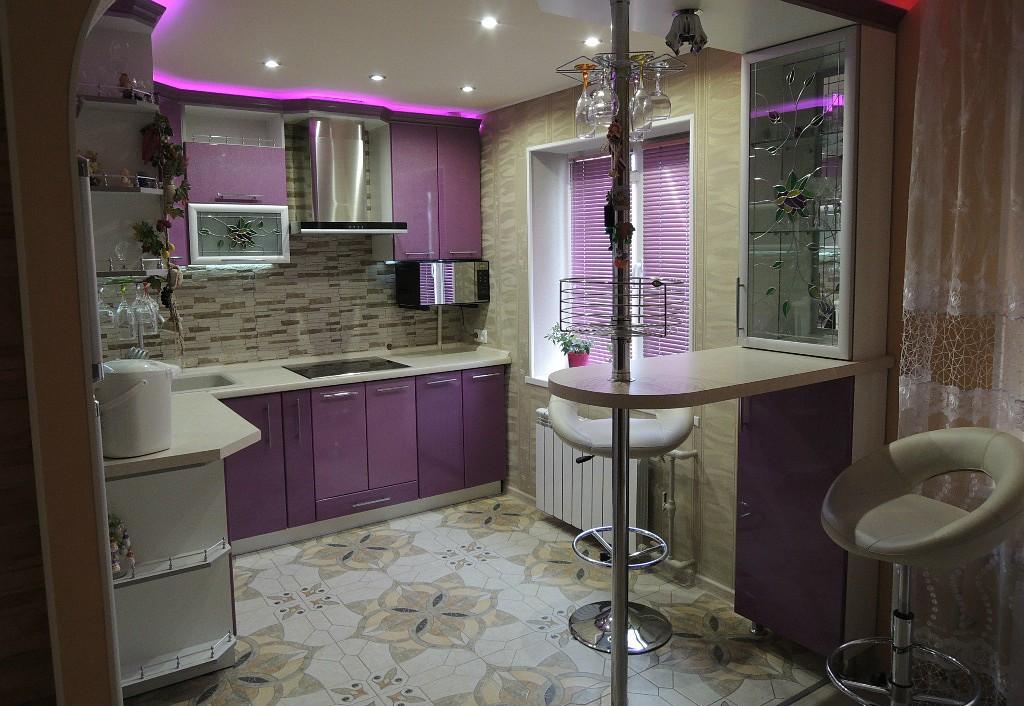 Кухни 9 кв метров дизайн реальные 126