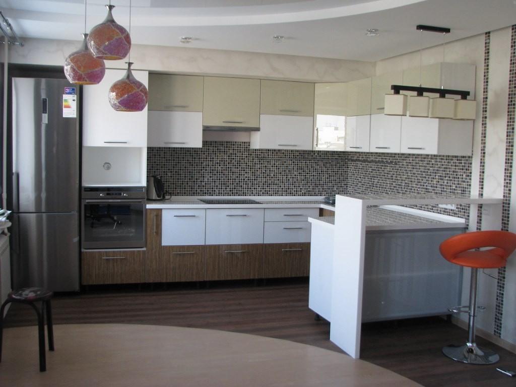 Кухня в стиле хай-тек (фото)