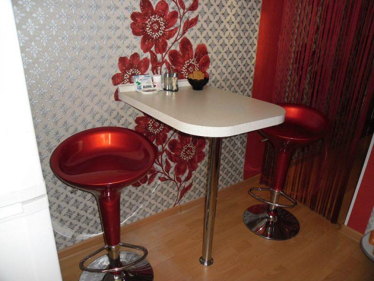Барный стол для маленькой кухни своими руками 63