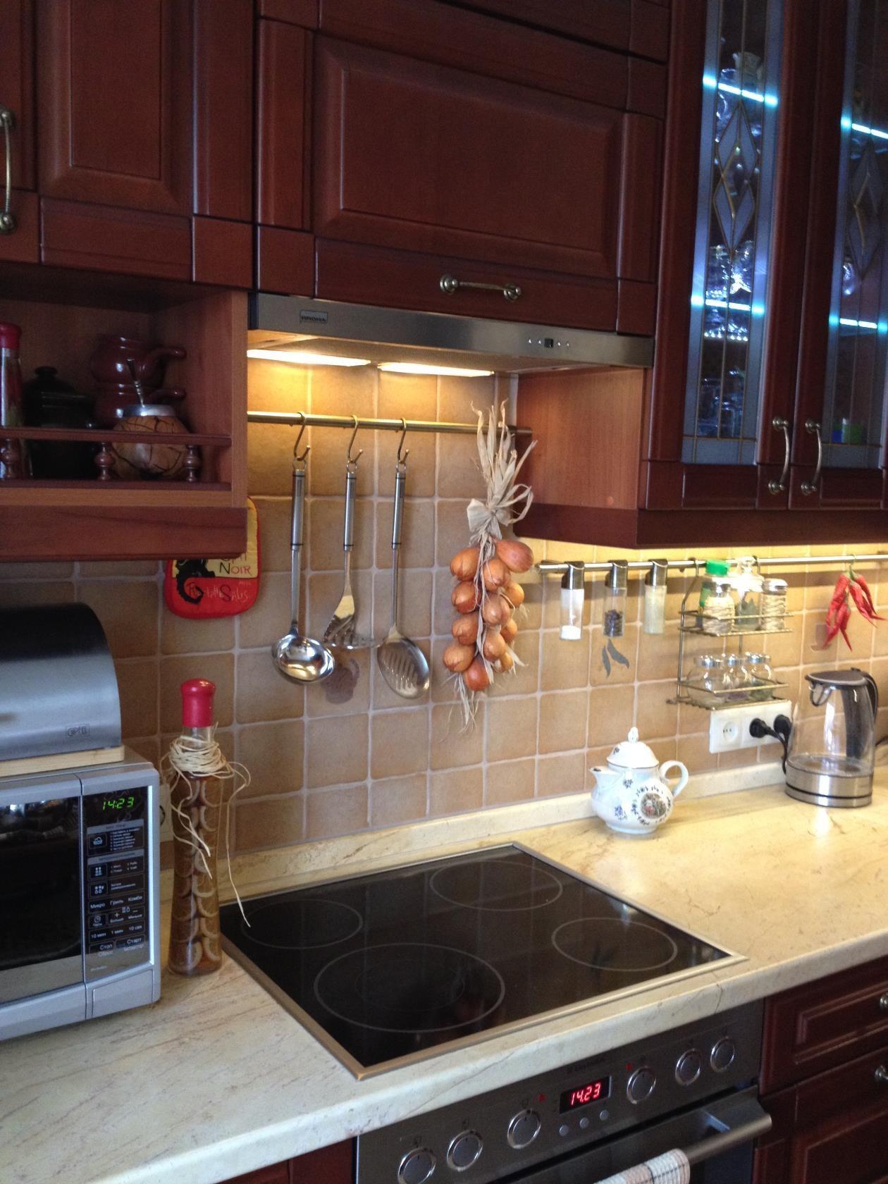 Рейлинги для кухни: как выбрать и установить (фото)