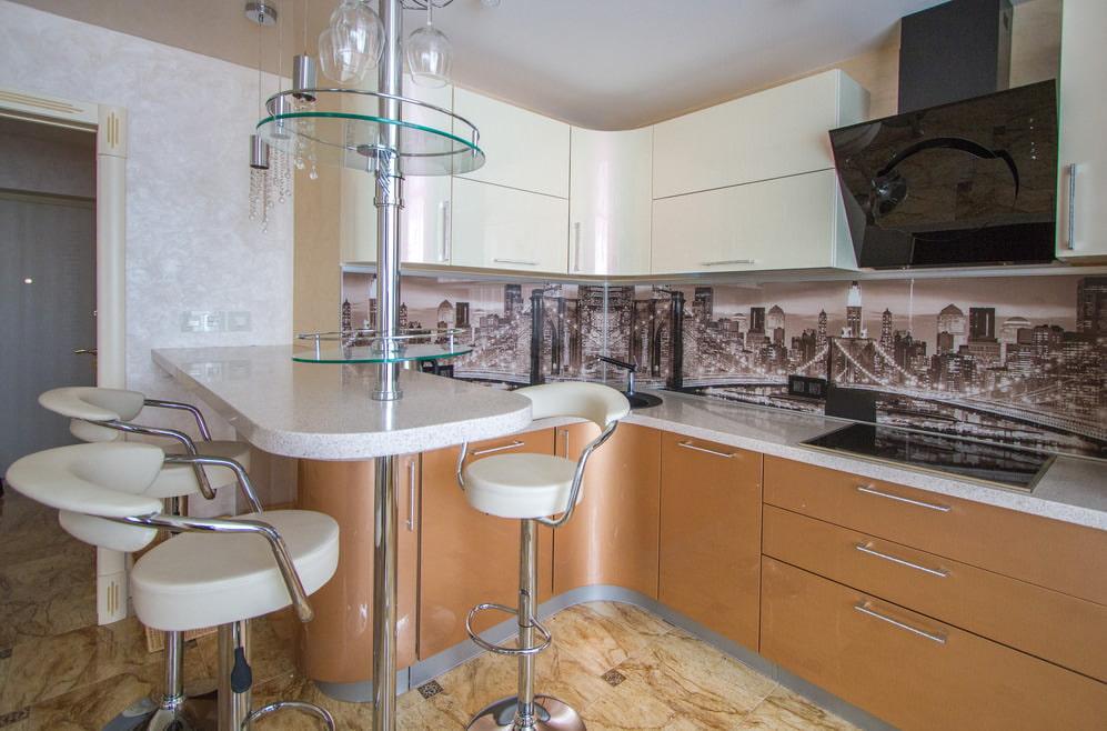 Дизайн кухни 7 кв метров (реальные фото)