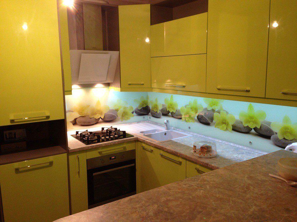 Дизайн кухни лимонного цвета ( реальные фото)