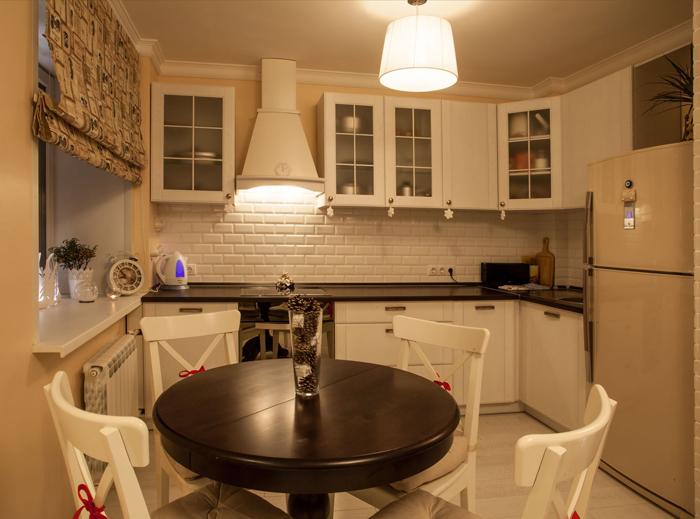 круглый стол на кухню 90 реальных фото примеров