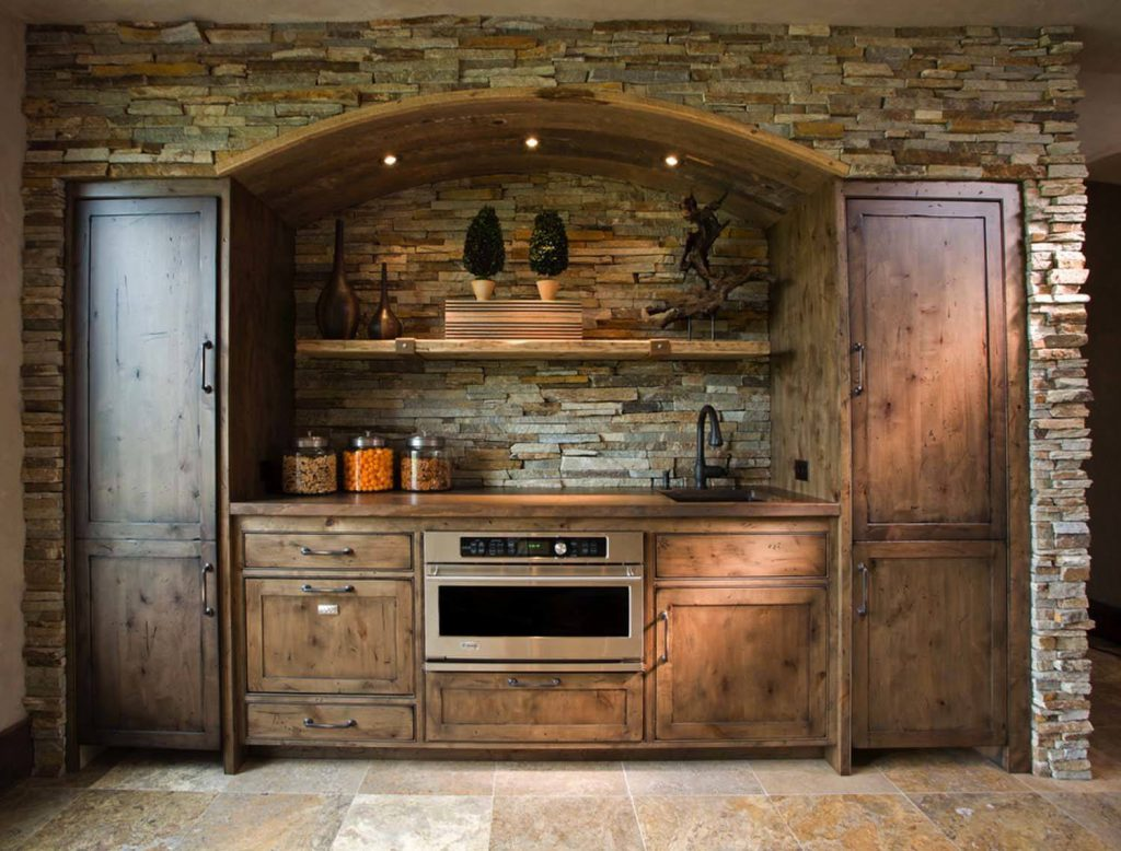 Кухня в стиле шале: основные правила оформления, фото примеры