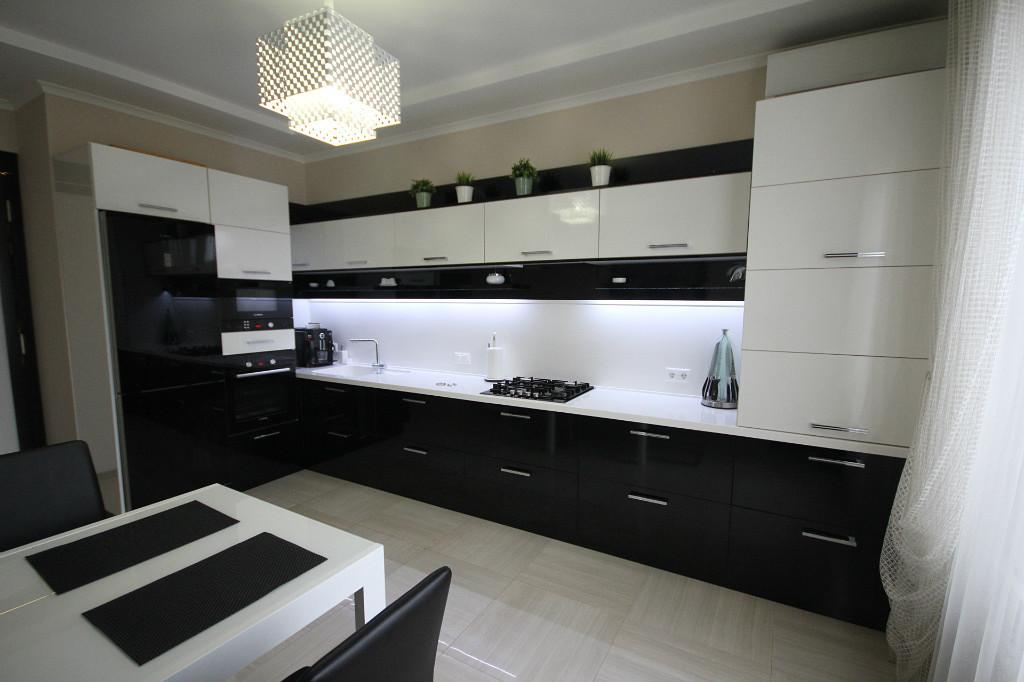 черная кухня 80 фото реальных интерьеров кухни в черном цвете