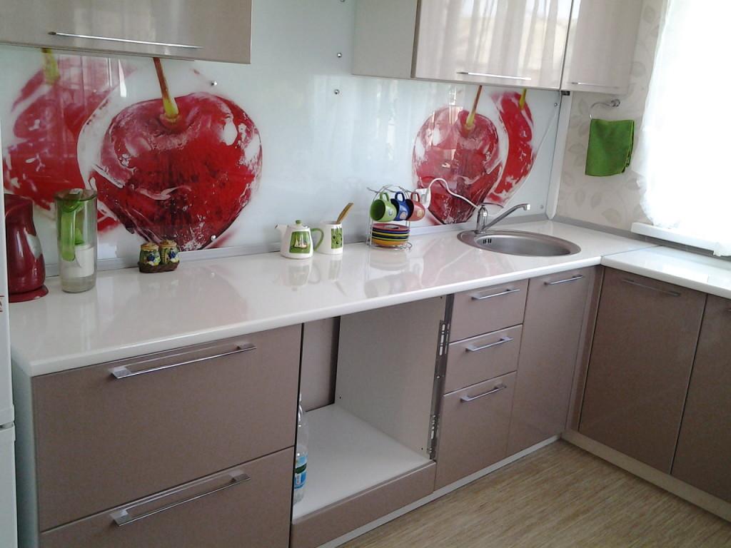Пластиковый фартук для кухни: разновидности, плюсы и минусы (реальные фото)