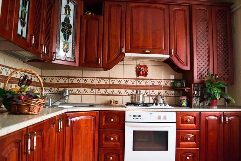 Плитка для фартука на кухню. Фото плитки разных видов и стилей