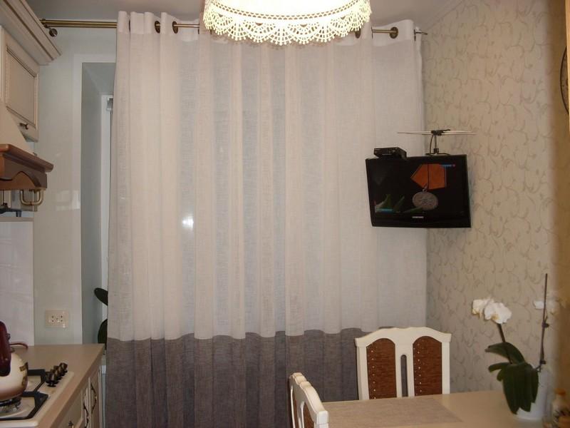 Тюль на кухонное окно- лучший выбор лучшей хозяйки