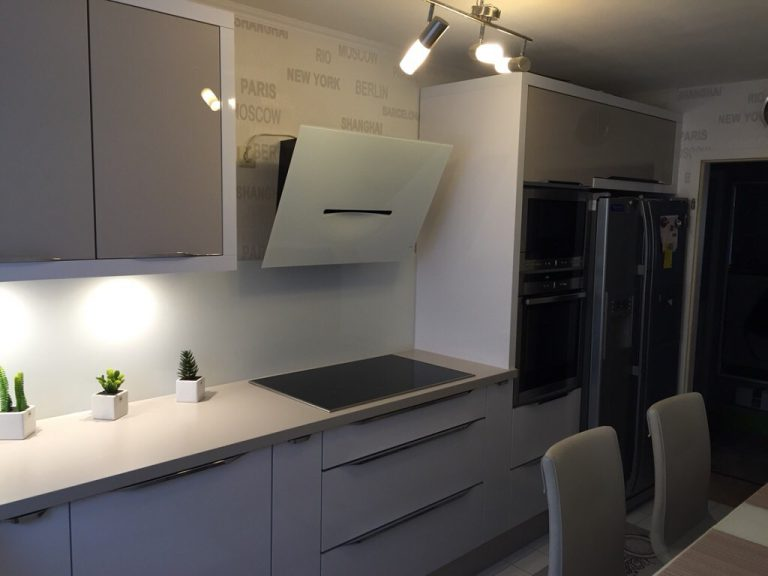 Кухни в стиле минимализм фото реальных кухонь