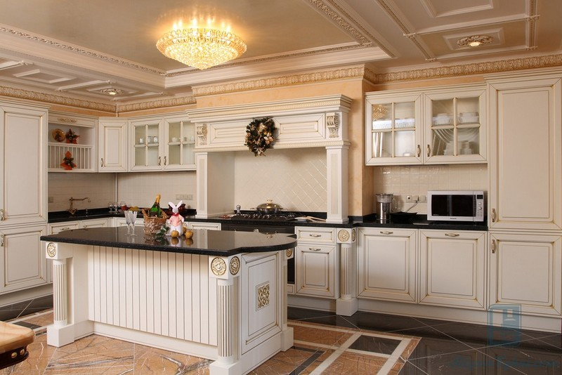 Кухня из дерева: 60+ фото примеров, выбор стиля и мебели, плюсы и минусы