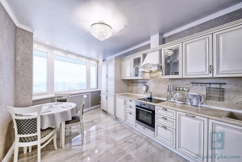 Кухня в классическом стиле-фотогалерея (140+ фото примеров)