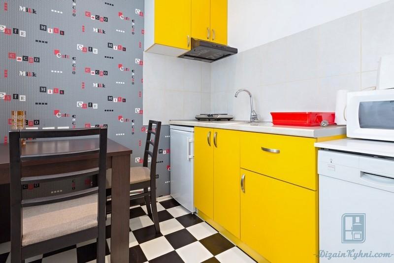 Прямые кухни - фотогалерея (150+фото примеров)