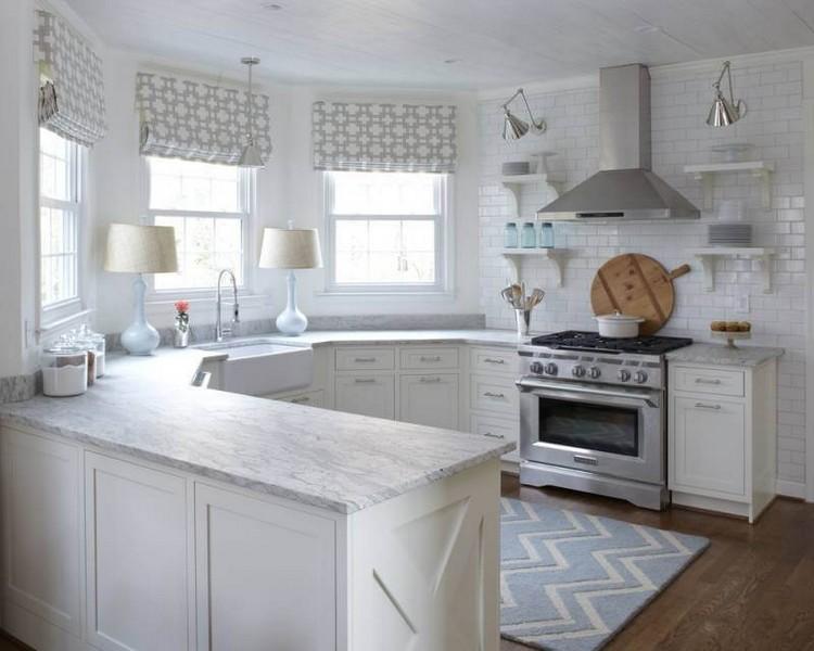 Дизайн кухни без верхних шкафов: фото примеры, особенности планировки