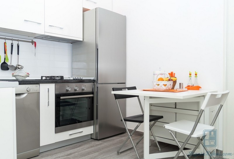 Кухня 5 кв. метров: как сделать кухню уютной и функциональной, практические советы, 100 реальных фото