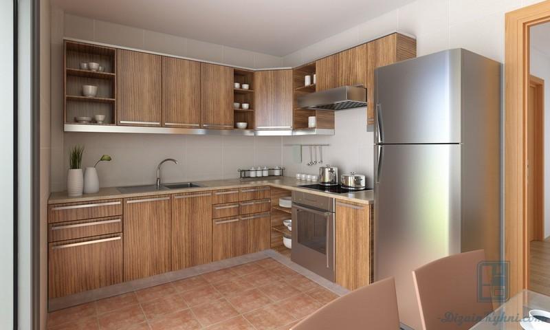Куда поставить холодильник на маленькой кухне: 80 фото примеров, лучшие варианты размещения
