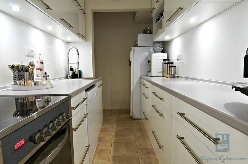 Параллельная планировка кухни: 50+ фото примеров, практические советы от дизайнеров