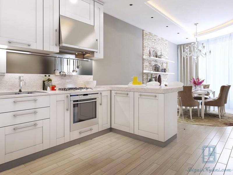 Дизайн белой кухни в классическом стиле: особенности оформления, 100+ фото примеров