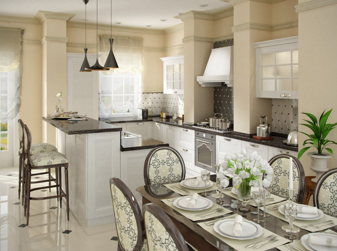 Удобные барные стулья для кухни