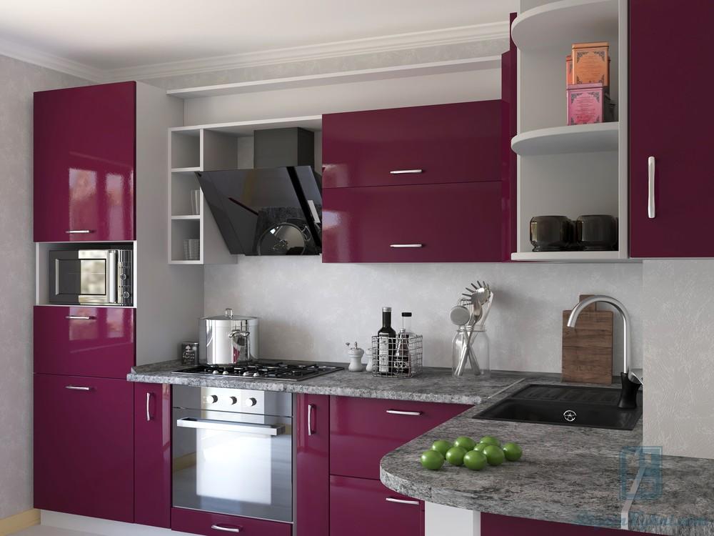 Кухни из акрила: плюсы и минусы, реальные отзывы, 50+ фото примеров