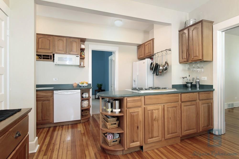 Кухня из шпона: 40+ фото примеров, разновидности, реальные отзывы владельцев