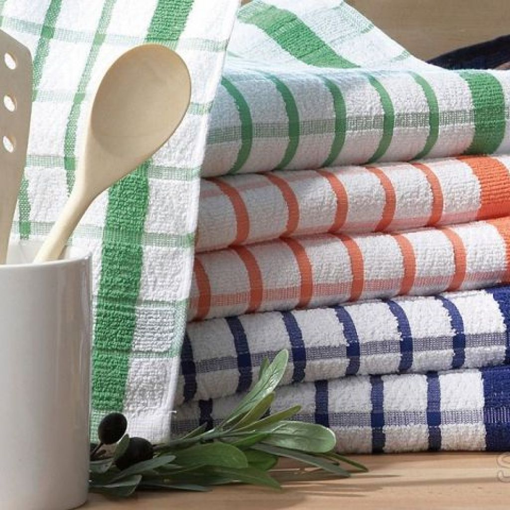 Как отбелить кухонные полотенца: 9 верных способов которые знали наши бабушки