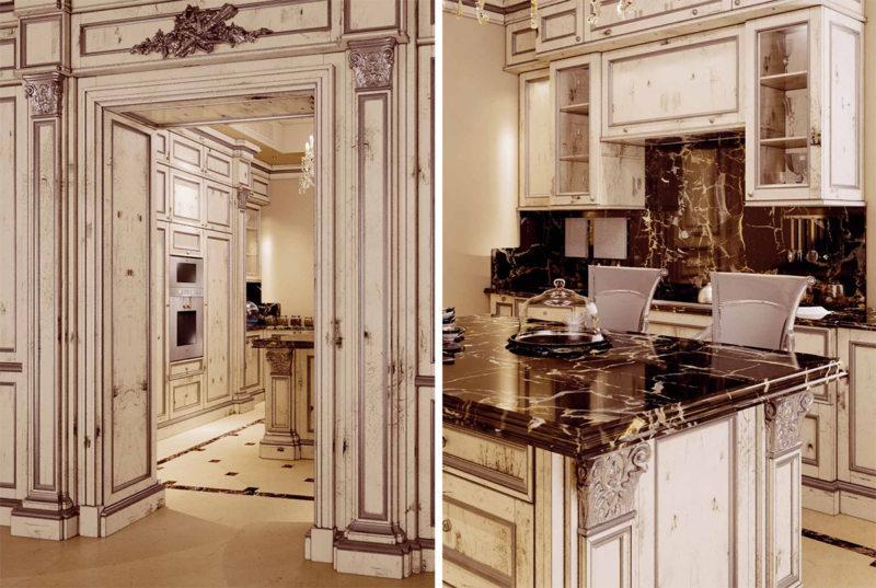 Кухня в египетском стиле: фото примеры, практические советы по оформлению