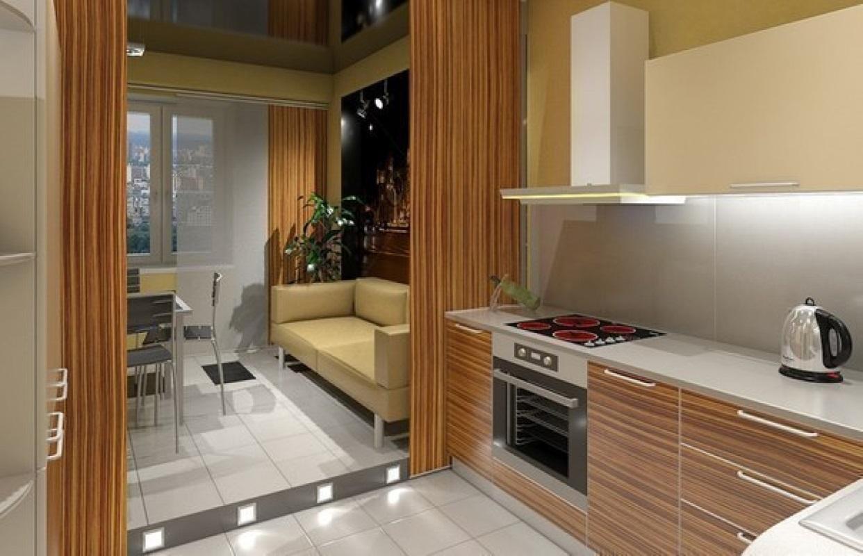 Сколько квадратов кухня в панельном доме